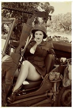 War Pinup, this is awesome! - Salute Our Veterans by Supporting the Businesses of www.VeteransDirectory.com and Hiring Veterans. Post Jobs at www.HireAVeteran.com