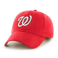 d57e572b472 47 Brand Washington Nationals MLB Basic Velcro Hat Detroit Game