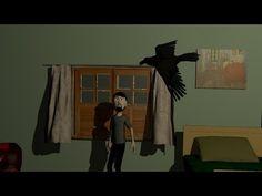 """Animação renderizada no Blender 2.69. The Raven (""""O Corvo"""") é um poema do escritor e poeta norte-americano Edgar Allan Poe. Ele foi publicado pela primeira..."""