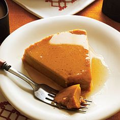 Global Recipes for Thanksgiving Leftovers | Spanish: Flan from Leftover Sweet Potato | CookingLight.com