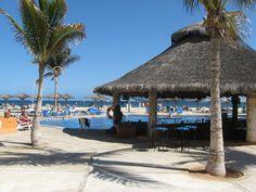 The pool at Posada Real Hotel in San Jose del Cabo, Mexico