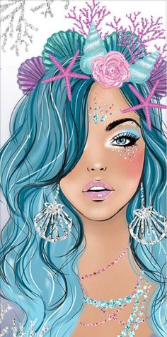 I am amazed Mermaid Wallpapers, Cute Wallpapers, Mermaid Wallpaper Iphone, Art Mignon, Mermaid Drawings, Mermaid Artwork, Mermaid Pictures, Unicorns And Mermaids, Unicorn Art