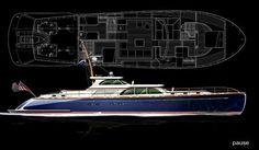 85ft. Runabout WERNER Yacht Design...LLA Lisa More