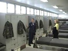 Air Force Basic Training Dorm Lackland AFB San Antonio, Texas (One of Rob's on site work locations. Military Training, Military Service, Military Life, Military Women, Military History, Air Force Basic Training, Lackland Air Force Base, Air Force Day, Air Force Women