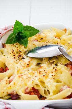 Casserole Recipe : Rigatoni and Cheese Casserole Recipe