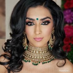 Photo of Mishal Sahdev Beauty Studio - Sunnyvale, CA, United States Bridal Makeup Looks, Indian Bridal Makeup, Bride Makeup, Bridal Makeover, Desi Bride, Bridal Photoshoot, Beauty Studio, Bridal Photography, Wedding Make Up