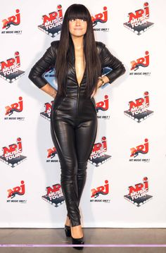 """leathermlxxx: """" conilde: """"Lily Allen """" Lily Allen in her leather catsuit. Lily Allen The Fear, Lilly Allen, Leather Jumpsuit, Leather Pants, Sexy Rock, Leder Outfits, Designer Jumpsuits, Leather Dresses, Leather Fashion"""