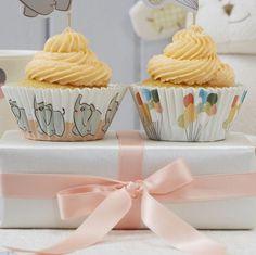 Cup cake baby shower éléphant