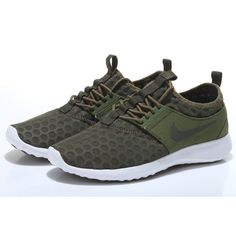 2015 Dames Nike Juvenate Running Schoenen - Faded Olive/Medium Olive/Sail Nederland 724979-300