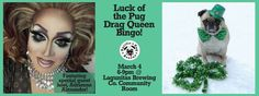 Fun, St. Patrick;s Day-themed fundraiser for Pacific Pug Rescue