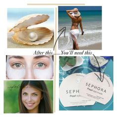 """""""Sephora Pearl Eye Mask"""" by glinda659 ❤ liked on Polyvore featuring beauty, Stella & Dot and facemasks"""