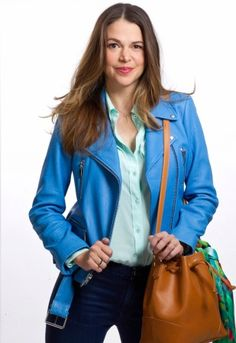 Sutton Foster Sutton Foster, Good People, My Idol, The Fosters, Amazing Women, Leather Jacket, Awesome, Fashion, Actresses