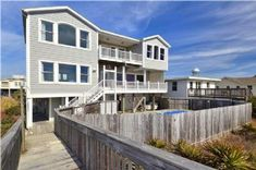 5 BR 169 OBW Holden Beach Vacation Rentals from Alan Holden Vacations, including Oceanfront homes, condos and villas.