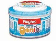 Playtex Diaper Genie REFILL-Stage1- Infant Film - Decrease Baby Diaper Odor  #Playtex