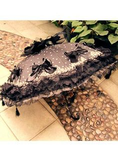 Shade from the sun or cover from the rain in a romantic lace Victorian parasol or umbrella. Vintage lace parasols in white, black, pastel etc Lace Umbrella, Vintage Umbrella, Folding Umbrella, Under My Umbrella, Umbrellas For Sale, Cute Umbrellas, Umbrellas Parasols, Victorian Era, Victorian Fashion