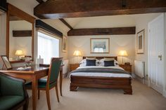 Deluxe accommodation at Goldsborough Hall. Image by Peter Boyd Photography