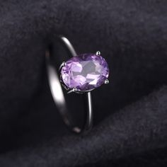 Magnifique 3 Ct Oval Cut AMETRINE 925 Sterling Silver Ring Taille 5-10
