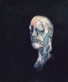 Francis Bacon Study for Portrait II (after the Life Mask of William Blake) 1955