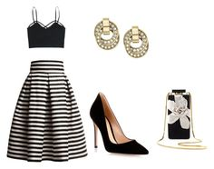 """Untitled #118"" by breonah on Polyvore featuring Rumour London, Gianvito Rossi, Lanvin and Michael Kors"