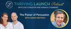 The Power of Persuasion – David Deutsch