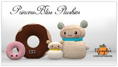 Sims 4 Today is my Birthday and I wanted to give you all a gift! Sims 2 to Sims 4 Donut Pillow & Sheep Pillow. Original Sims 2 meshes by PrincessBliss • Donut Pillow This was a special Birthday gift...