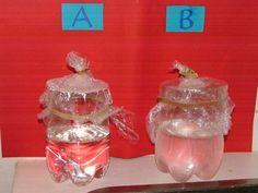 (3.-6.lk) Tehtävässä pyritään yksinkertaisen testin avulla ymmärtämään, mitä tiivistyminen tarkoittaa. Ilmassa oleva näkymätön vesihöyry tiivistyy pisaroiksi, jos on tarpeeksi kylmä ja jotain ainetta, jonka ympärille se voi tiivistyä. Chemistry, Physics, Wine Glass, Science, Biology, Water, Decor, Gripe Water, Decoration