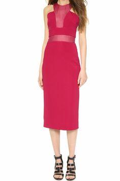 Cushnie Et Ochs Sheer Panel Sheath Dress- Size 4, $85/Week