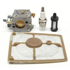 Chain Saw Carburetor Air Fuel Filter Kit For STIHL 041 041 Farm Boss Gas Carb