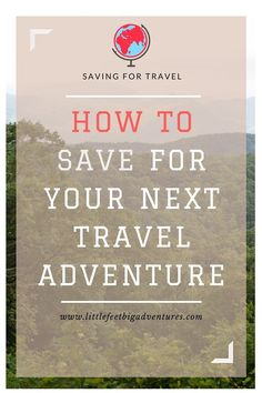 My family loves to travel, we love last minute getaway weekends and long trips during the summer. Here is how to save for your next travel adventure. Travel Advice, Travel Guide, Travel Hacks, Travel Gadgets, Travel Info, Faire Son Budget, Last Minute Getaways, Costa Rica Travel, Travel Abroad
