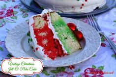Mommy's Kitchen: Vintage Christmas Jell-O Poke Cake. I know the holidays are over, but tuck this recipe away for next year. You will be glad you did.