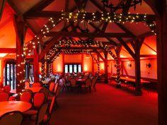 Uplighters Fairy Lights At Sandhole Oak Barn