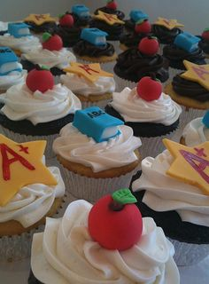 Image detail for -Teacher Cupcakes « The Cupcake Blog