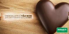 Delícia que faz bem! Você adora chocolate? Aproveite, o consumo adequado faz bem ao coração, além de garantir a água na boca: http://unimed.me/1fnVi3l