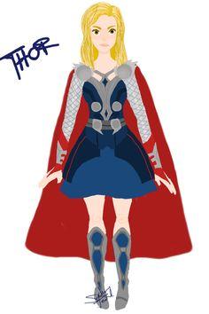 female thor design