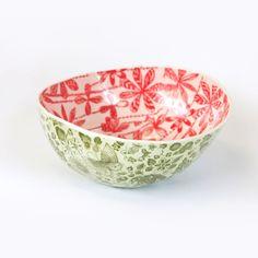 Amazing watermelon porcelain bowls