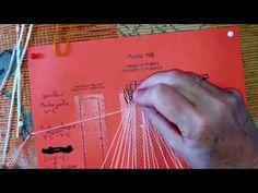 4 - Cómo hacer Punto de Torchón en Encaje de Bolillos - YouTube Bobbin Lace, Youtube, Macrame, Diy, Stick Pins, How To Make, Fabrics, Embroidery Techniques, Step By Step