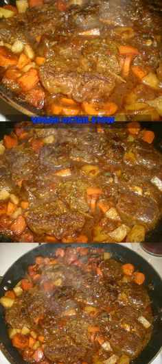 vegan oxtail stew 100% meat-free. Made from http://korennrachelle.blogspot.com/. Awesome recipe!!