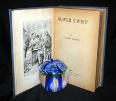 1900's Rare Nisbet Victorian Edition - OLIVER TWIST by Charles Dickens – MFLIBRA - Antique Books