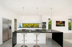 ECO ESSENCE - 1m Wide Breakfast Bar and Extended Bench via ESH Daybreak Boulevard Residence