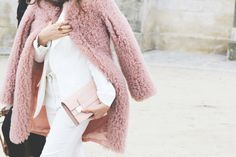{fashion inspiration | romantic spring style : pink hues} by @Victoria Brown Brown Berezhna