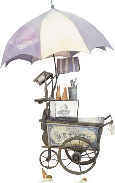 Memorabilia:Movie TV Props, The Boxtrolls Ice Cream Cart Original Animation Prop (LAIKA,2014).... Image #1