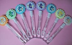 8 Care Bears Bubble Wands Birthday Party Favors | eBay 4th Birthday Parties, Birthday Party Favors, Birthday Fun, Birthday Ideas, Care Bear Birthday, Care Bear Party, Bubble Party, Bubble Wands, Care Bears