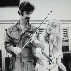 Frank Zappa and Pamela Des Barres