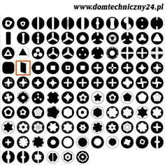 Typology of Screw Heads (via Instructables) Logo Design, Graphic Design, Time Tattoos, Book Pages, Surface Design, Light In The Dark, Geek Stuff, Pattern, Fasteners