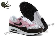 Wear Pink Cooler Red Mahagony White Gym Red Nike Air Max 1 Womens Shoes Online