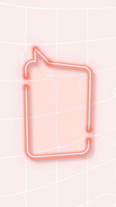 Red speech balloon wallpaper vector | free image by rawpixel.com / katie Balloon Background, Glitter Background, Mobile Wallpaper, Iphone Wallpaper, Speech Balloon, Pink Mobile, Memphis Pattern, Neon Design, Neon Light Signs
