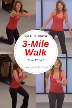 Fitness Workout For Women, Fitness Tips, Health Fitness, Leslie Sansone, Youtube Workout, Walking Exercise, Walking Workouts, Senior Fitness, Wellness