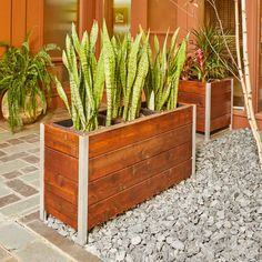 Woodworking Madera How to Build a Modern Planter.Woodworking Madera How to Build a Modern Planter Planter Box Plans, Wooden Planter Boxes, Plastic Planter, Bamboo Planter, Raised Planter, Deck Planters, Modern Planters, Succulent Planters, Hanging Planters