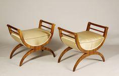 Biedermeier stools