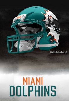 Dolphins in 1972 won the Super Bowl and has been the only team to go (or in NFL history. Football Helmet Design, Texas A M Football, College Football Helmets, Sports Helmet, Nfl Football Teams, American Football, Custom Football, Super Bowl, Nfl Miami Dolphins